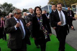 Visite ministèrielle de Sylvia Pinel en 2012 - ©O.Schindler / Salon Atlantica