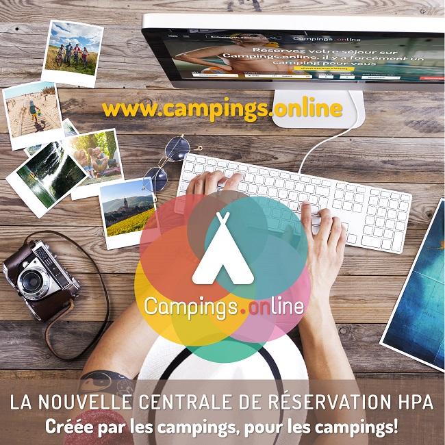 Centrale de réservation Campings.Online