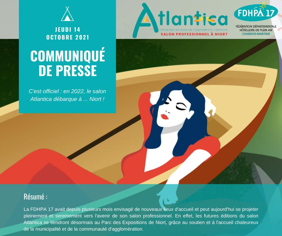 Facebook - Communiqué de Presse Atlantica 2021